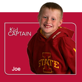 Kids Captain, Joe