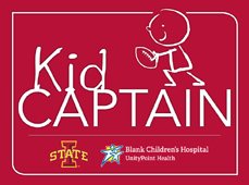 2013 Kid Captains at Blank Children's Hospital in Des Moines, Iowa