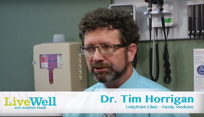 Dr. Tim Horrigan, UnityPoint Clinic Family Medicine