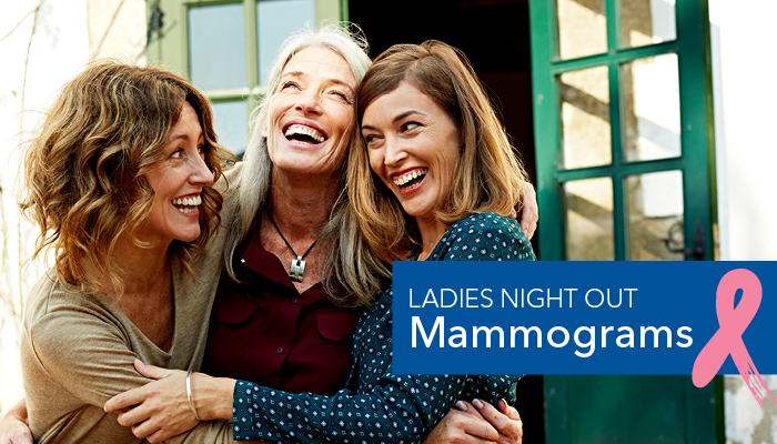Ladies night out mammograms