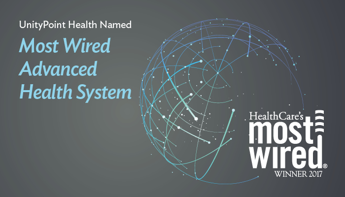 UnityPoint Health Named 2017 Most Wired Advanced