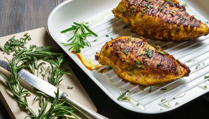 Eat Well LiveWell: Grilled Rosemary Chicken