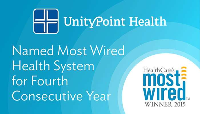 UnityPoint Health Named Most Wired Health System for Fourth Consecutive Year