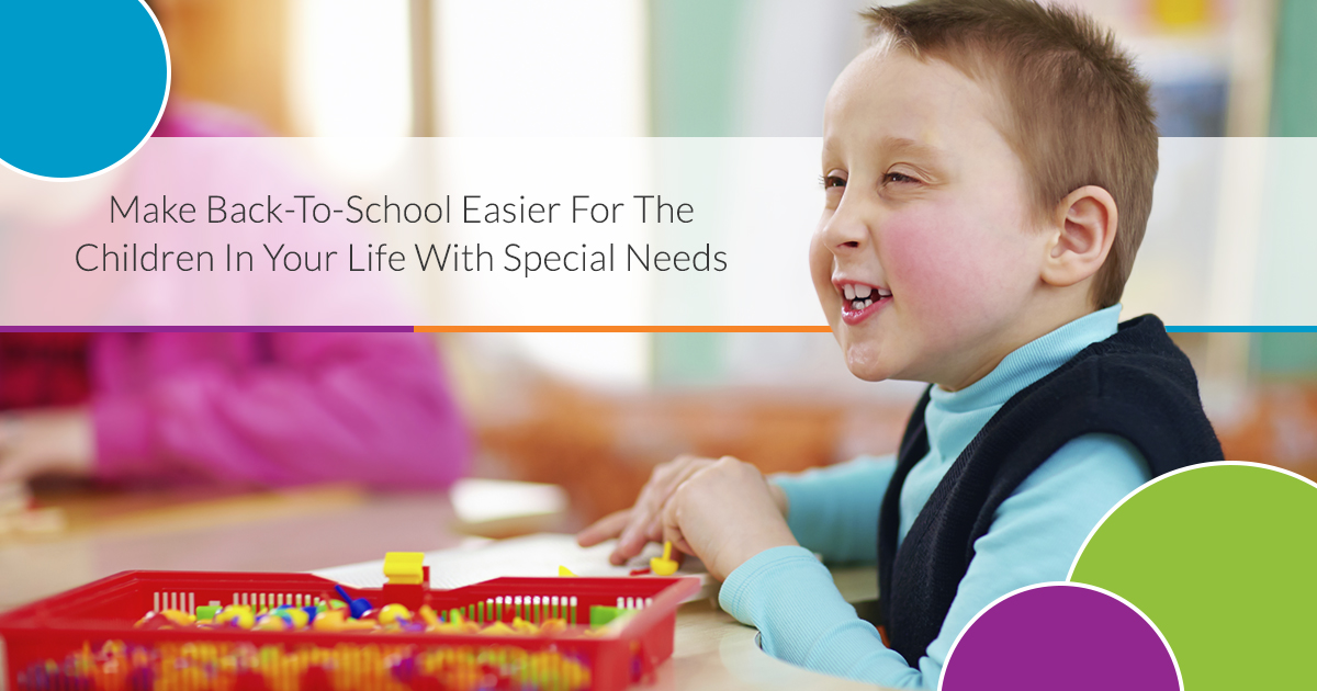 Back-to-school for a special needs child