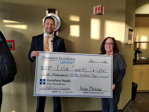 2018 Champion Excellence Grant Recipient: Lisa Sparks, Digestive Health
