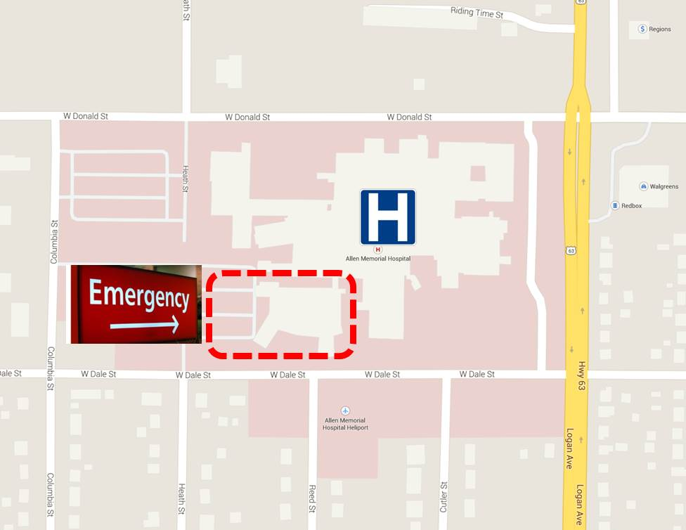 The Emergency Department Amp Triage At Allen Hospital In